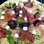 recette Salade de figues rôties au miel