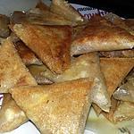 recette Samoussas aux thon et aux oeuf