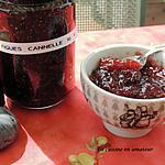 recette Confiture de figues à la cannelle