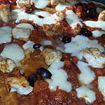 recette Pizza au poulet façon chasseur