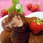 recette Truffes roses à la fraise