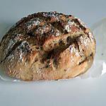recette Pain cocotte à la farine semi-complète