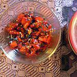 recette Le chutney de ma maman : Chutney de poivrons gingembre et mente