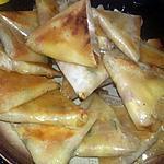 recette Samoussas pomme de terre jambon mozzarella