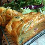 recette MINI-CAKE  A  LA  ROQUETTE