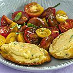 recette Fritelle de ricotta aux tomates cerises
