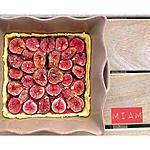 recette Tarte fine figues sur lit d'amandes - Thermomix ou pas
