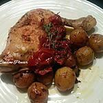 recette Cuisses de poulet en papilotte