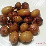 recette Grenailles huile ail thym au four