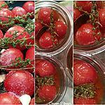 recette TOMATES cerise /cocktail CONFITES (etSTÉRILISATION)