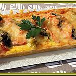 recette Tarte au saumon fumé et brocoli