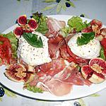 recette SANDWICH DE MOZZARELLA DI BUFFALA