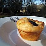 Muffins au boudin noir ,pommes et mascarpone