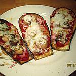 recette aubergines façon pizza