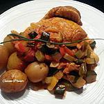 recette Cuisse de dinde et ses petits légumes mijotés