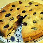 recette Gâteau prunes violettes/noisettes