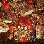 recette Poitrine d agneau de lait à la marocaine