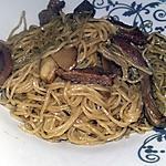 recette Nouilles au bœuf a la sauce tamarin