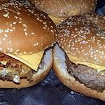 recette Hamburgers au steaks panés