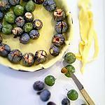 recette Tarte Prunes Reine Claude et Figues - Avec Thermomix ou Pas