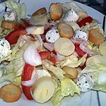 recette Salade iceberg au cœurs de palmiers