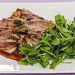 recette Pizza aubergines sardines et câpres