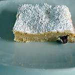 recette Brownies au chocolat blanc et aux amandes