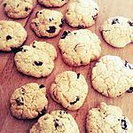recette Cookies aux cranberries Sans Gluten Sans FODMAP