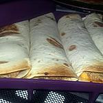 recette Wrap a la viande haché façon burger