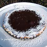recette Tartelettes à la noix de coco et chocolat noir
