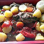 recette Gigot de sept heures et sa farandole de petits légumes