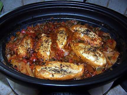recette poulet basquaise de Annie