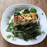 recette Terrine surimi asperge verte et sa crème balsamique pomme