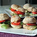 recette Petits pains express garnis
