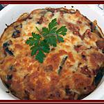recette Gratin d'Aubergine au thon