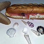 recette Sandwich viennois au saumon fumé