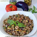 recette Caponata d'aubergines