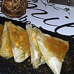 recette Samoussas bœuf oignon curry
