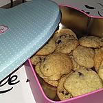 recette Cookies bananes pépites de chocolat