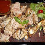recette Epaule d agneau a plat grillée au four