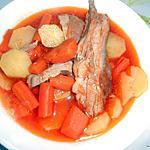 recette SOUPE D'AGNEAU CAROTTES POMMES DE TERRE