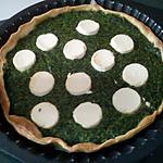 recette Tarte aux épinards & chèvre frais