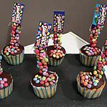 recette gravity cupcake