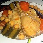 recette Couscous poulet merguez rapide