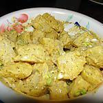 recette Salade de pommes de terre à la moutarde et à l'aneth