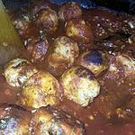 recette Boulettes de dorade a la sauce tomate