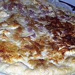recette Quiche au dès de jambon, kiri, emmental