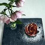 recette Rose feuilletée à la pomme