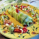 recette Rouleau de salade grecque