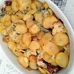 recette Pommes de terre au cammembert et bleu